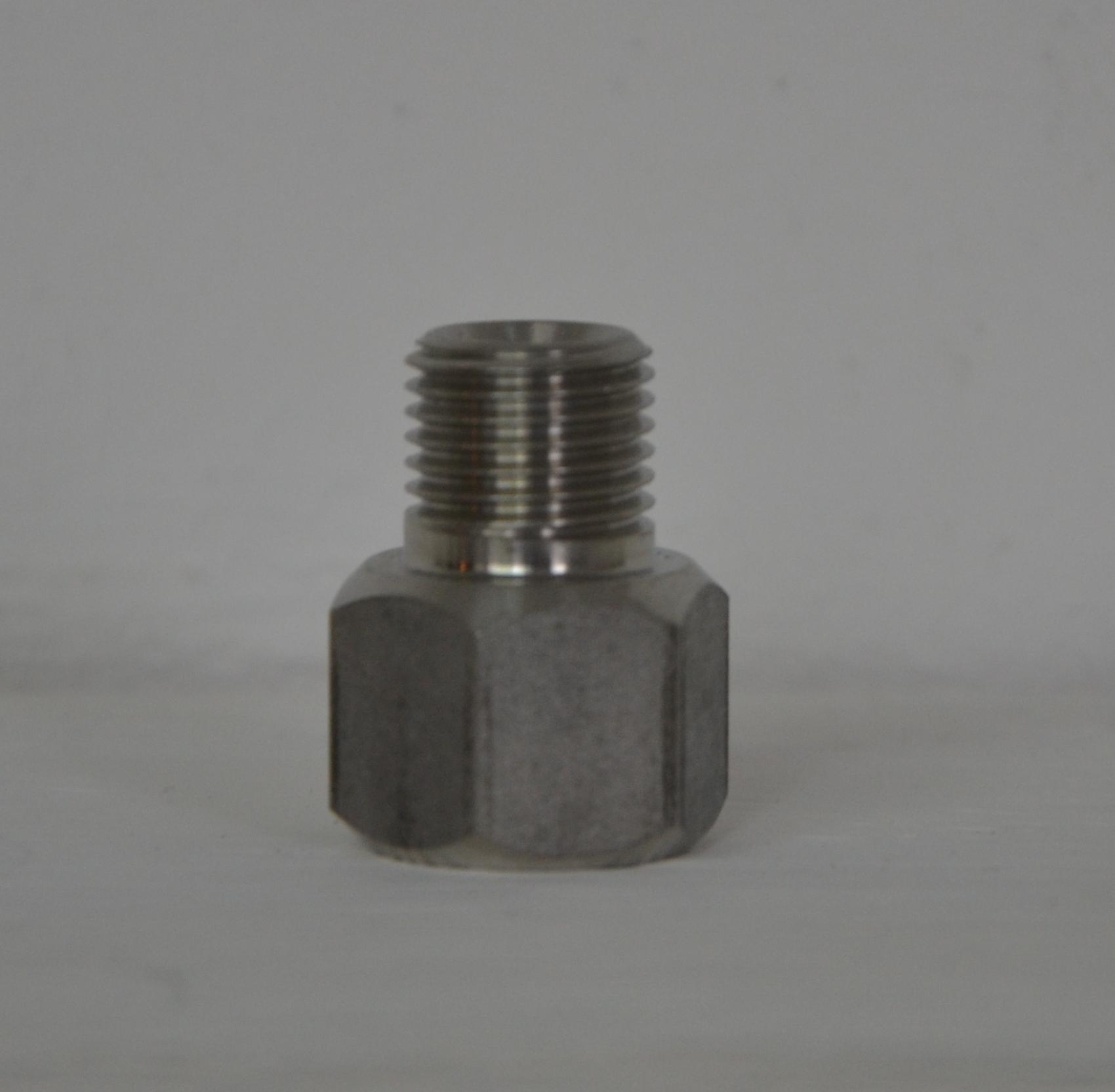 """Verloop nippel van lasnippel naar 1/4"""" buitendraad  Image"""